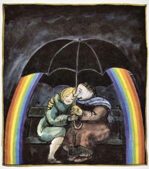 Im Tief hilft der Regenbogen