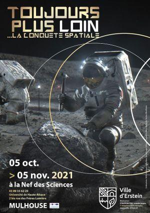 Toujours plus loin: la conquête spatiale