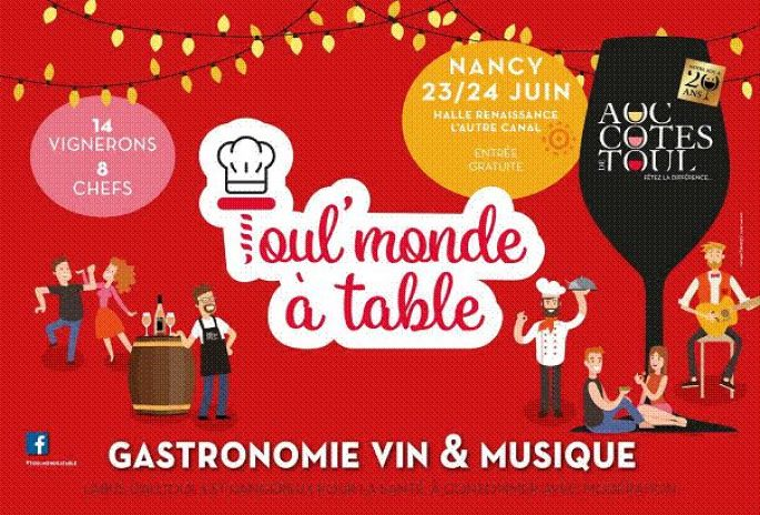 Toul'Monde à Table 2018 à Nancy