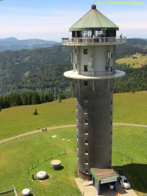La tour du Feldberg