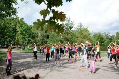 Du sport dans les parcs de Strasbourg