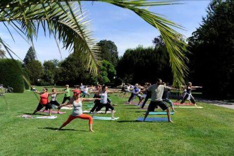 Les parcs strasbourgeois accueillent des pratiques douces (yoga, qi gong...)