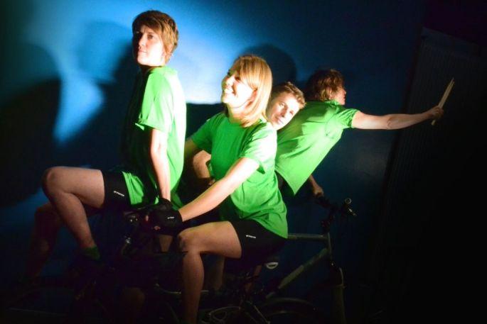 Les Pieds s\'entêtent, le groupe qui participe à la Tournée Verte 2014