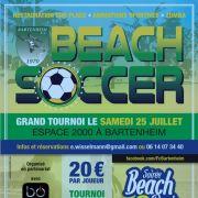 Tournoi de Beach Soccer du FC Bartenheim