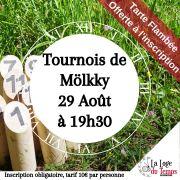 Tournoi de Mölkky