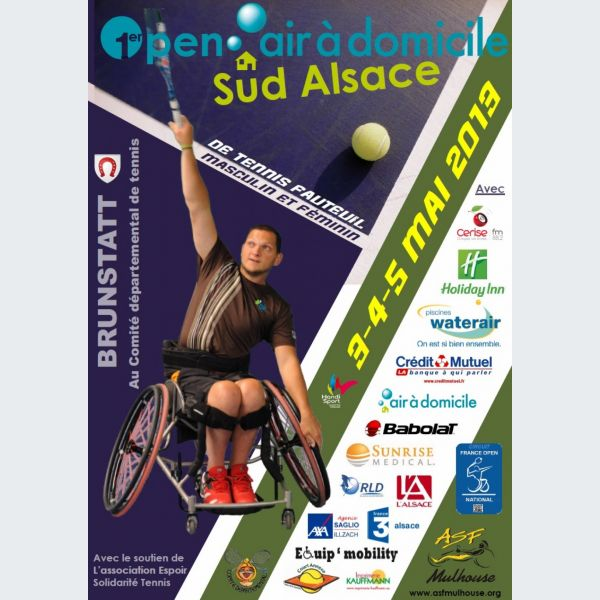 tournoi de tennis handisport open air domicile sud alsace. Black Bedroom Furniture Sets. Home Design Ideas