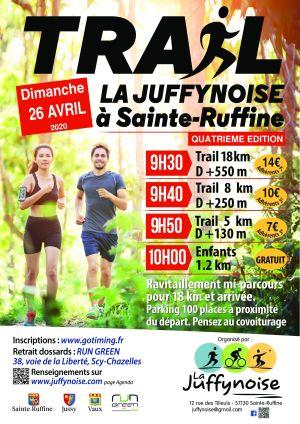 Trail La Juffynoise à Sainte-Ruffine
