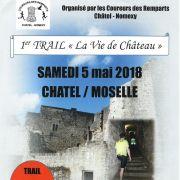 Trail La vie de château à Châtel sur Moselle 2018