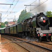 Train à vapeur Mulhouse-Parc de Wesserling