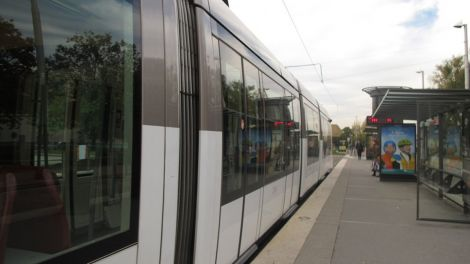 L\'arrêt de tram Hautepierre-Maillon
