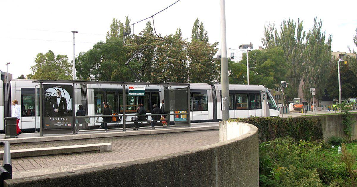 Arr t h pital de hautepierre tram de strasbourg horaire - Horaire piscine wacken strasbourg ...