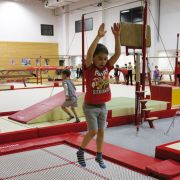Le trampoline, pour bondir comme un kangourou !