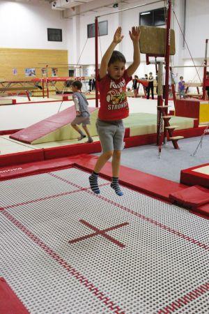 A l\'Union de Blotzheim, on peut s\'initier au trampoline dès 5 ans