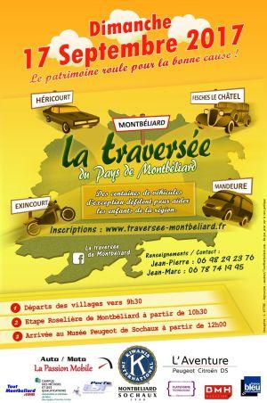 Traversée du Pays de Montbéliard et Bourse Classic auto moto