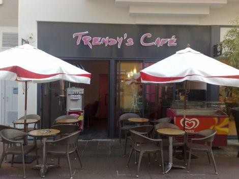 Trendy\'s Café à la Cour des Maréchaux