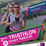 Triathlon Innov'Habitat à Morhange 2018