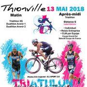 Triathlon international de Thionville 2018