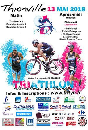 Triathlon international de Thionville 2018