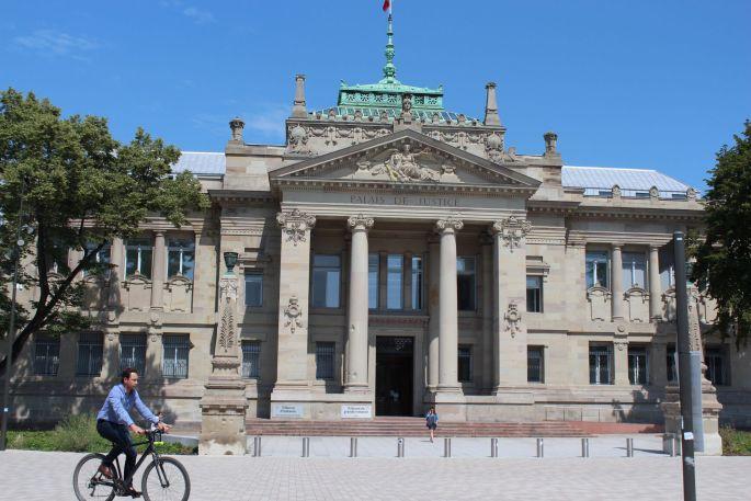 Le tribunal de grande instance de Strasbourg, rénové en 2018