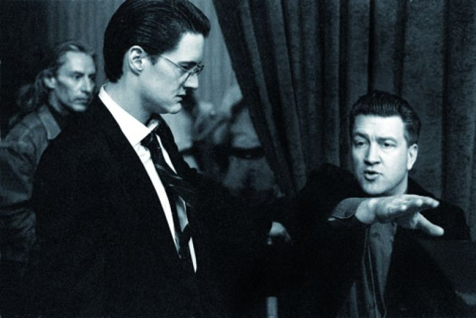 Twin Peaks. David Lynch conseille Kyle MacLachlan.