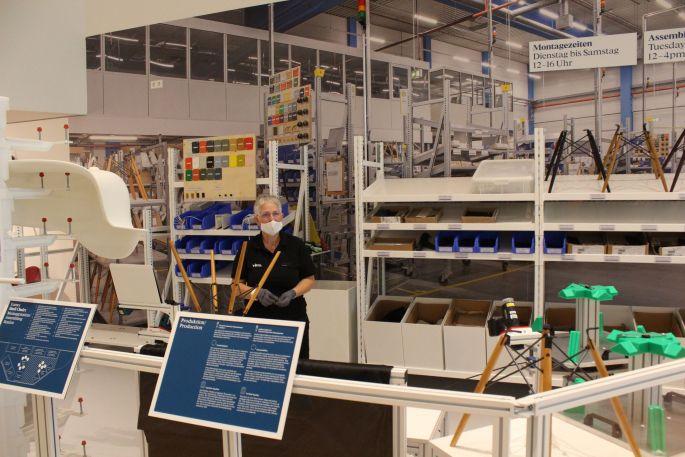 Un atelier de fabrication de chaises