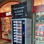 Un distributeur de spécialités alsaciennes dans la gare de Strasbourg !