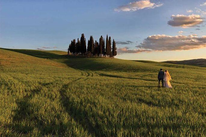 Les mariages en Toscane font beaucoup rêver les jeunes couples