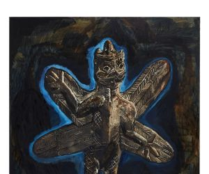 Un monde infini : artistes chamanes, autour d\'une collection de l\'Himalaya