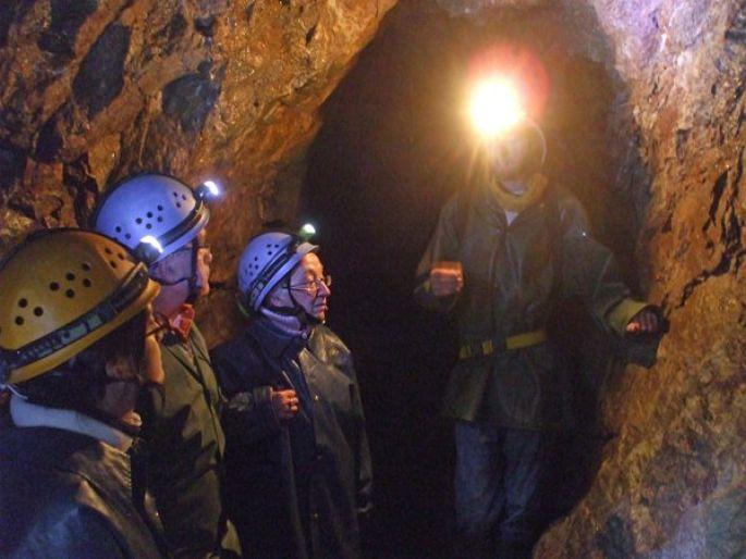 Une visite de la mine Gabe Gottes, creusée au 16e siècle  dans le Val d'Argent