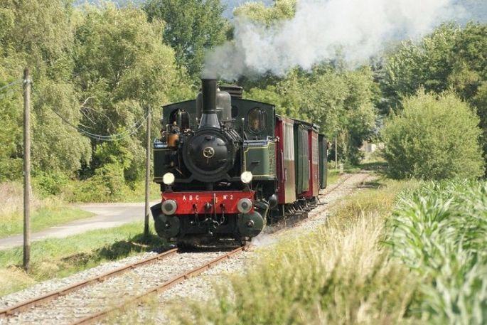 Un tour en train à vapeur