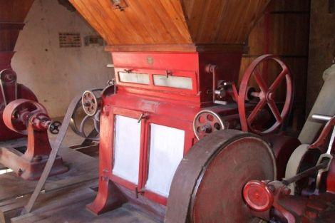 Une des machines de l\'ancien moulin à farine de Marckolsheim encore conservée aujourd\'hui