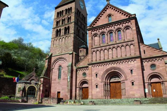 Une église néo-romane