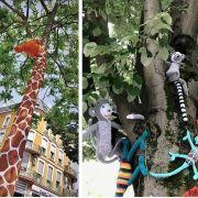 Une jungle en tricot à Mulhouse !