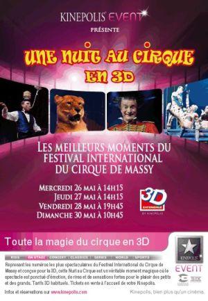 Une nuit au cirque en 3D