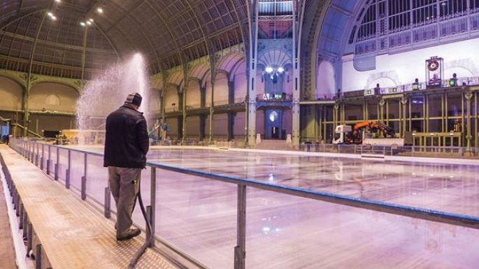 Synerglace installe des patinoires partout en Europe et dans le monde