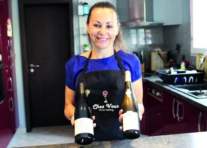 Sylvia Rogalle vous initie aux vins sans sortir de chez vous