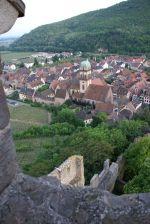 Une vue de Kaysersberg depuis son château