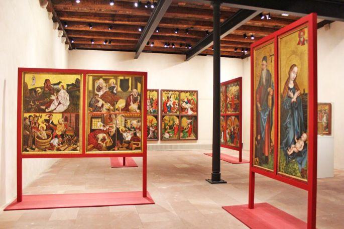 Une salle dédiée à Martin Schongauer
