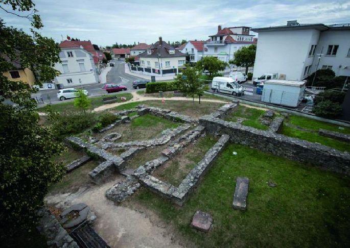 Le square archéologique d\'Illzach