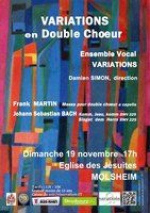 Variations en Double choeur