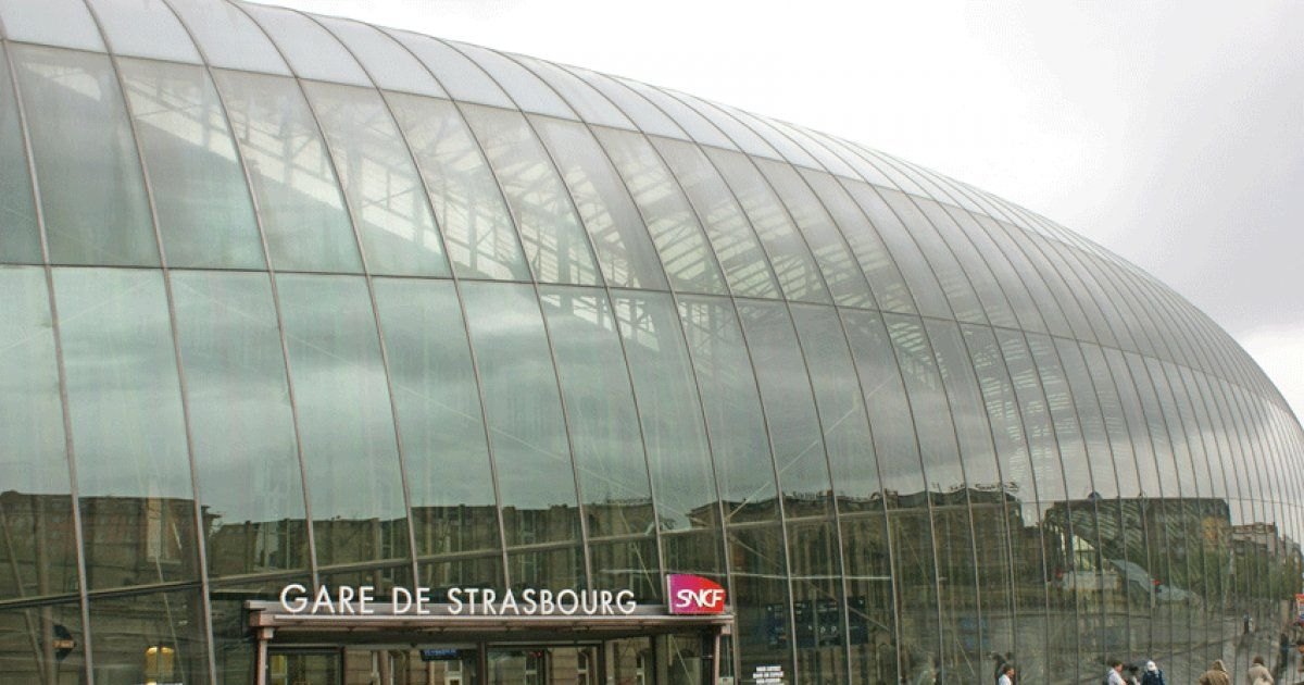 Gare sncf de strasbourg plan acc s horaires contact for Horaire piscine strasbourg