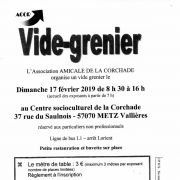 Vide grenier à Metz 2019