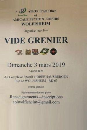 Vide grenier à Oberhausbergen 2019