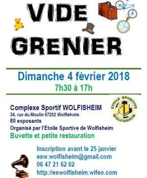 Vide grenier à Wolfisheim 2017