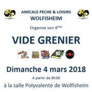 Vide grenier à Wolfisheim 2018