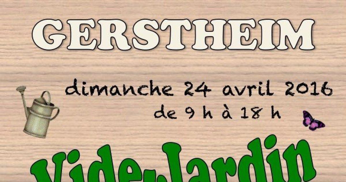 Vide jardin gerstheim 2016 march aux puces for Vide jardin finistere 2016