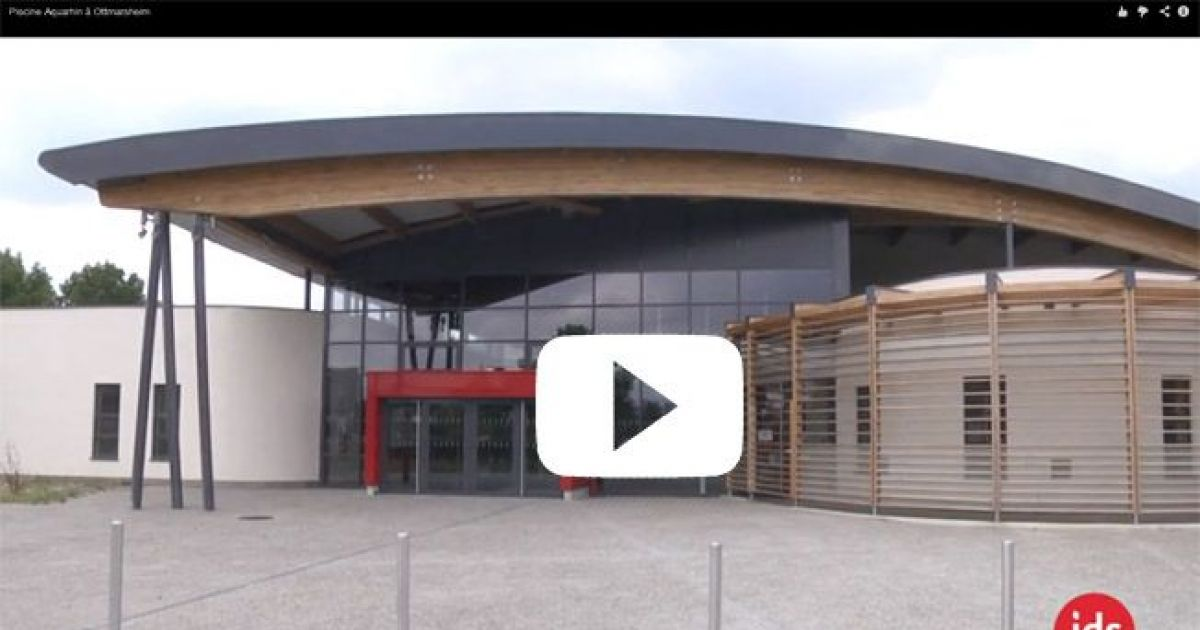 Vid o centre aquatique aquarhin ottmarsheim for Centre rencontre courfaivre piscine