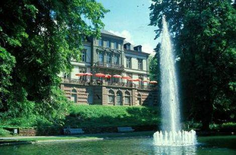 Vue extérieure de la Villa Berberich