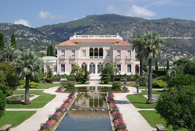 Villa & Jardins Ephrussi de Rothschild à Nice