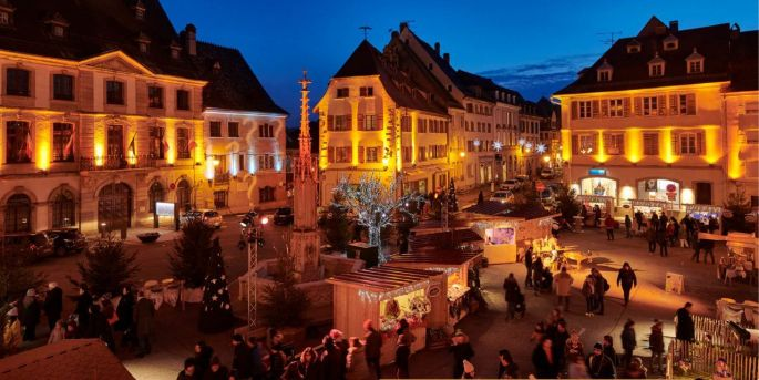 Le marché de Noël d\'Altkirch prend la forme d\'un village des artisans